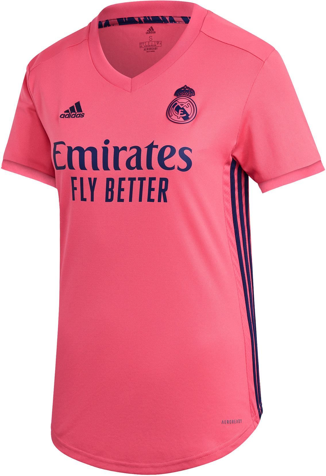Dres adidas REAL MADRID AWAY JERSEY WOMEN 2020/21