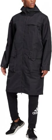 Men Shell Long Jacket