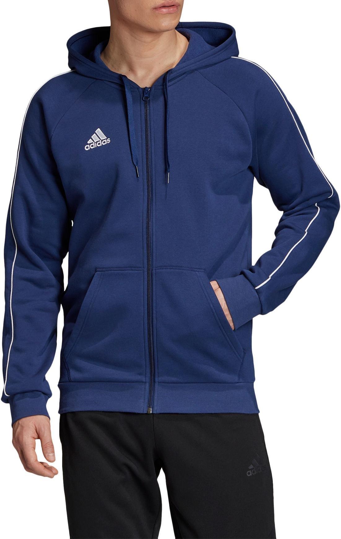 Mikina s kapucňou adidas CORE18 FZ HOODY