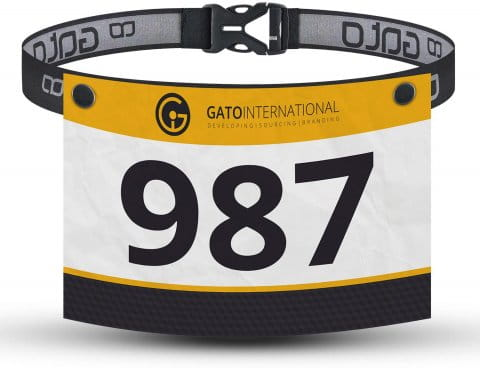 RACE NUMBER BELT SNAP