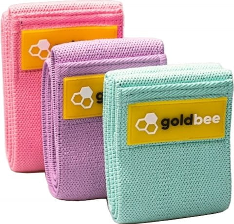 GoldBee Textile Resistance Band Set 3P