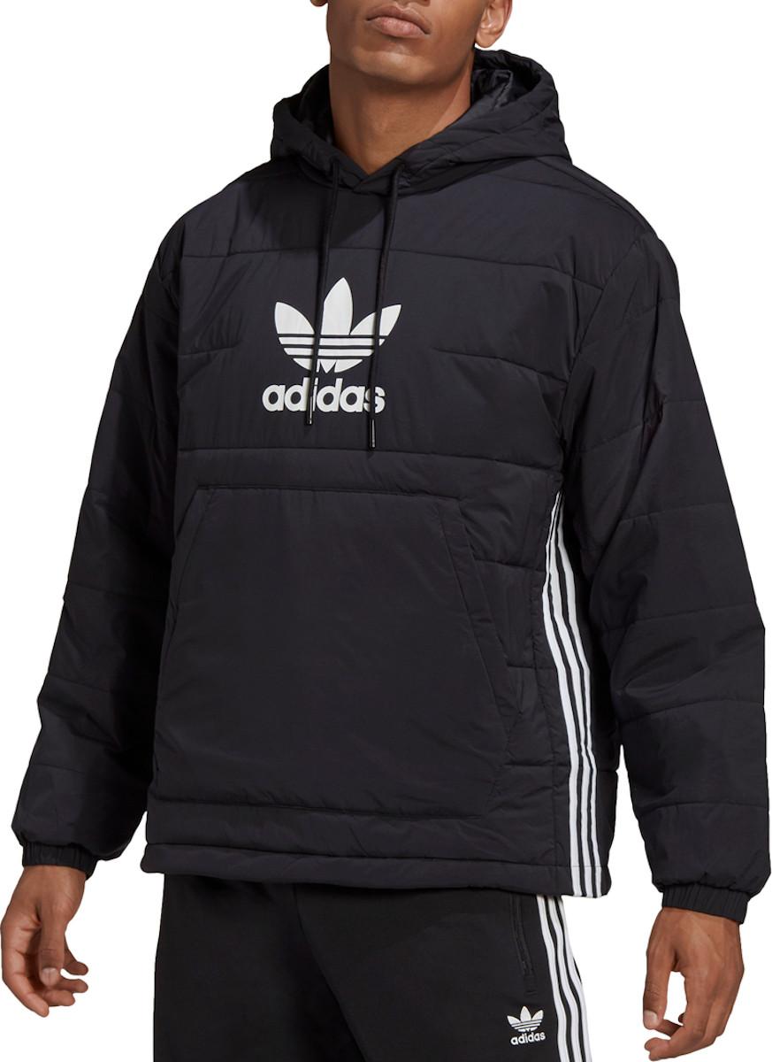 Bunda s kapucňou adidas Originals LW OH TREFOIL HOODY
