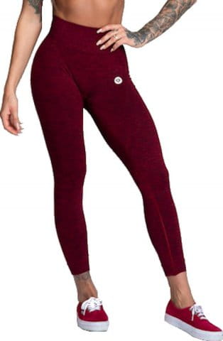 leggings seamless Bordo Melange