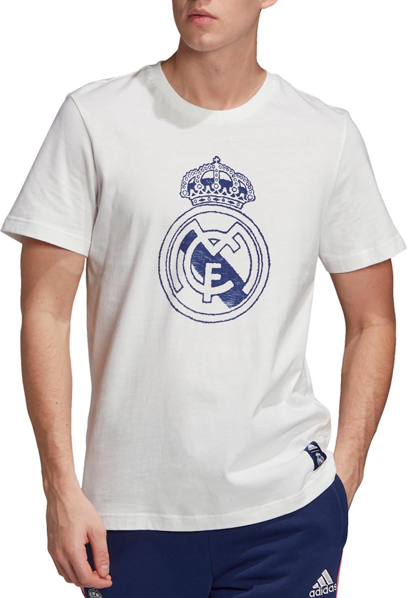 Tričko adidas REAL MADRID DNA GRAPHIC SS TEE 2020/21
