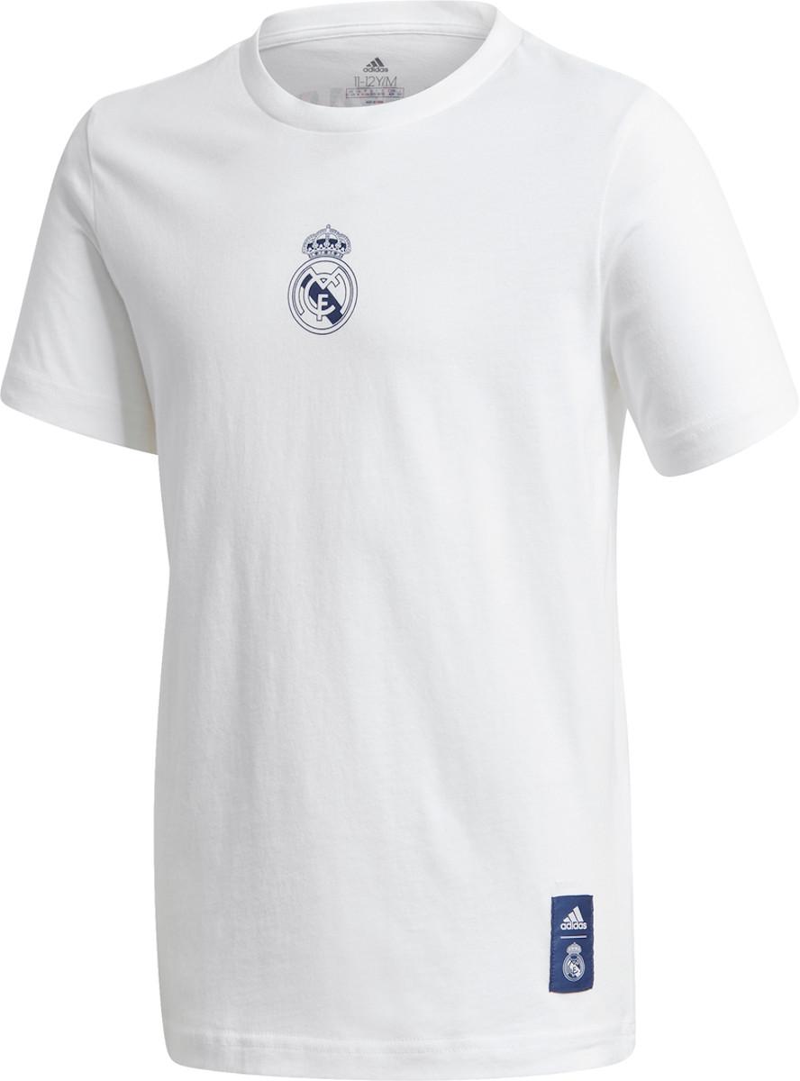 Tričko adidas REAL MADRID DNA GRAPHIC SS TEE Y 2020/21