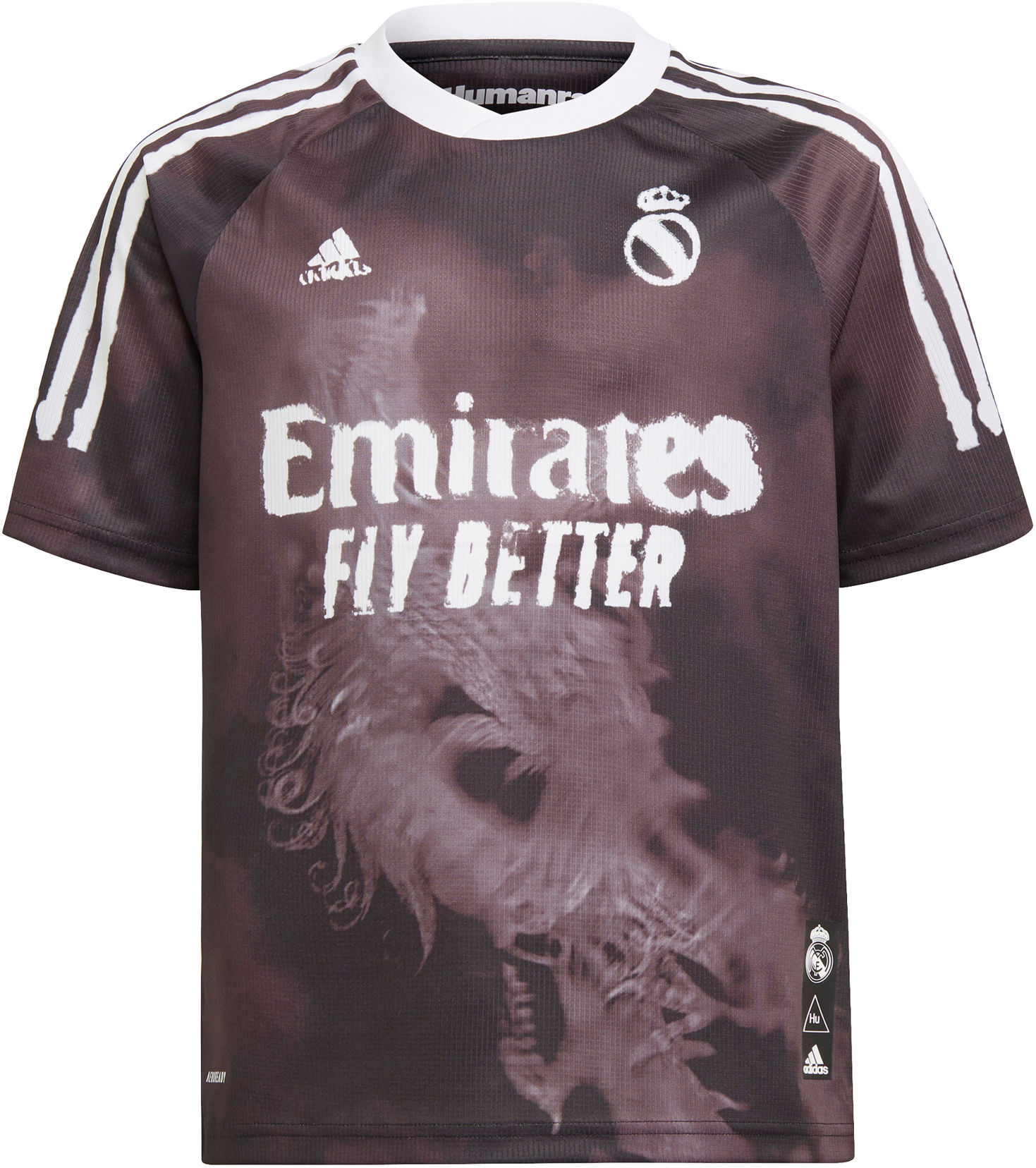 Dres adidas REAL MADRID HUMAN RACE JERSEY YOUTH