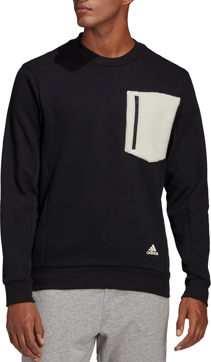 Mikina adidas WINTER BOS FLC SWEAT