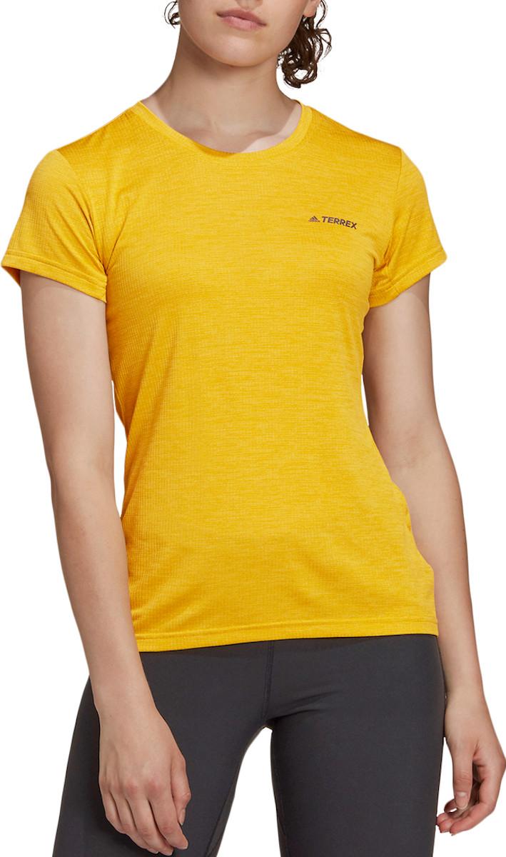 Tričko adidas TERREX Tivid SS Tee W