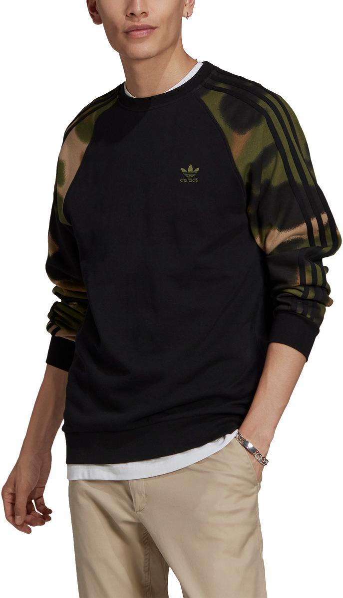 Mikina adidas Originals CAMO CREW