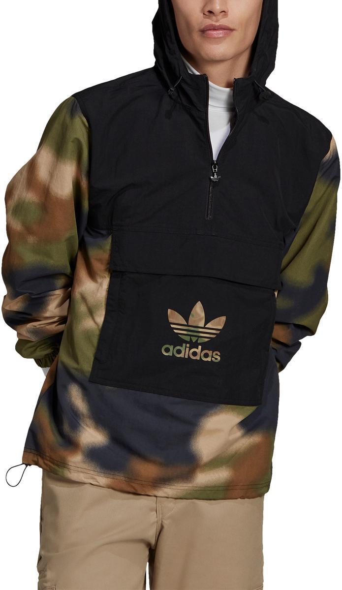 Mikina s kapucňou adidas Originals CAMO WINDBREAKR