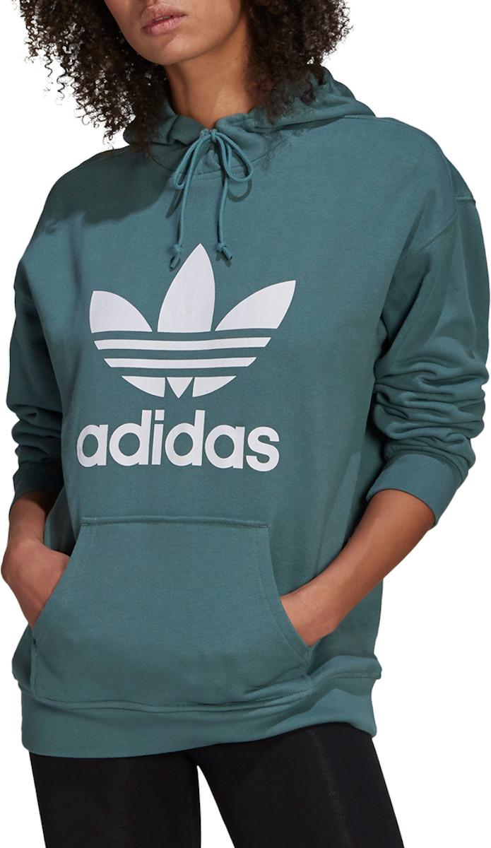 Mikina s kapucňou adidas Originals TRF HOODIE