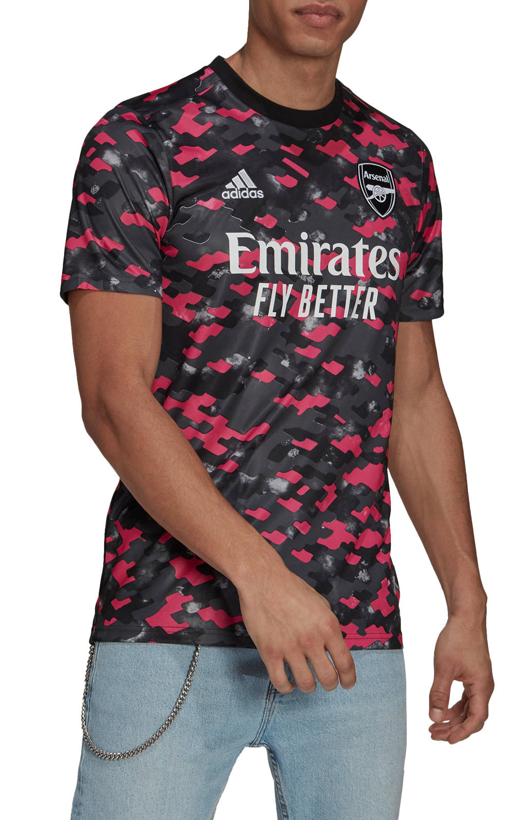 Dres adidas ARSENAL FC PRE MATCH JERSEY 2021/22