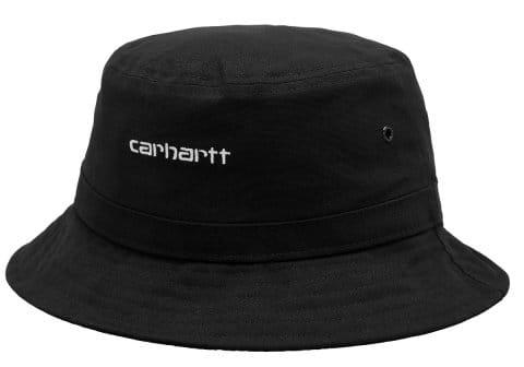 Carhartt WIP Script Bucket Hat Schwarz F0D2XX