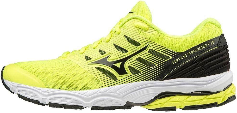 Outlet di scarpe da running Mizuno gialle economiche