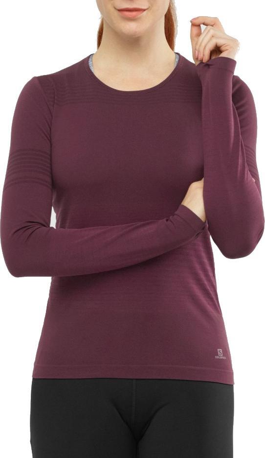 Tričko s dlhým rukávom Salomon ELEVATE MOVE ON LS TEE W