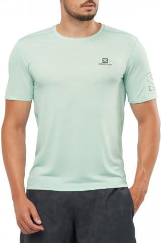 XA TRAIL TEE M-HARBOR GRAY-Heather-