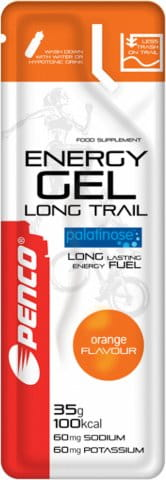 ENERGY GEL LONG TRAIL 35g orange