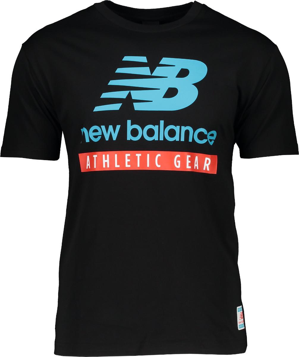 Tričko New Balance Essentials Logo SS TEE