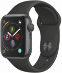 Reloj Apple Apple Watch Series 4 GPS, 40mm Space Grey Aluminium Case with Black Sport Band
