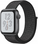Reloj Apple Apple Watch + Series 4 GPS, 40mm Space Grey Aluminium Case with Black Sport Loop