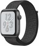 Reloj Apple Apple Watch + Series 4 GPS, 44mm Space Grey Aluminium Case with Black Sport Loop