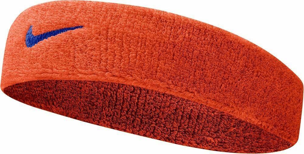 Nike SWOOSH HEADBAND Fejpánt - Narancs - ks