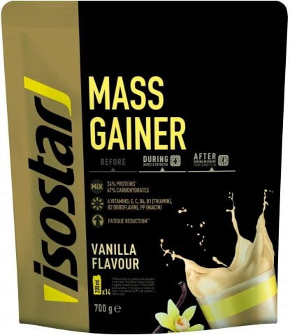 Isostar 700g POWDER MASS GAINER (DOY PACK)