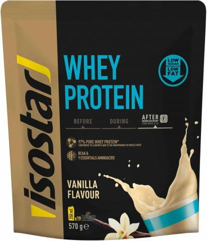 Isostar 570g Whey Protein BCAA (DOY PACK)