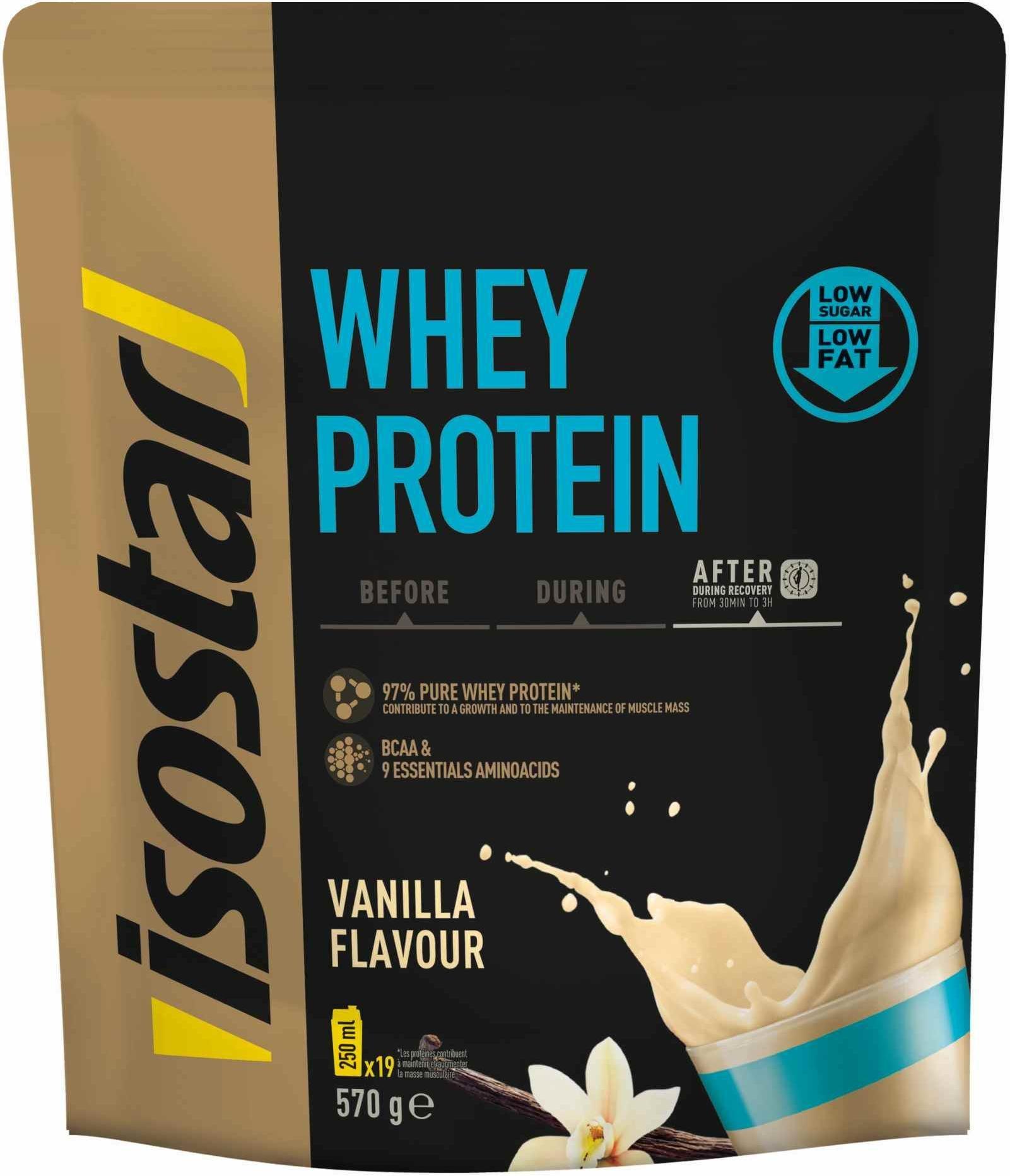 Prášek Isostar Isostar 570g Whey Protein BCAA (DOY PACK)