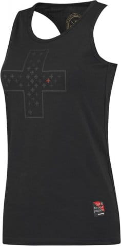 LADY TOP THORNFIT CROSS BLACK