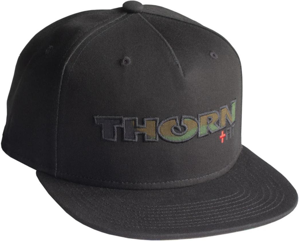 Kšiltovka THORN+fit THORN+fit CAMO SNAPBACK
