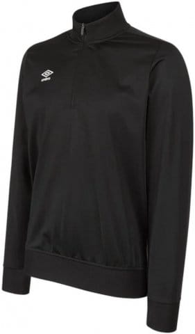 umbro club essential 1/2 zip sweat kids