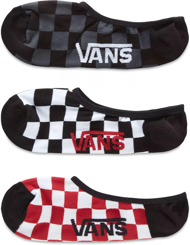 Ponožky Vans MN CLASSIC SUPER NO SHOW (9.5-13, 3PK)