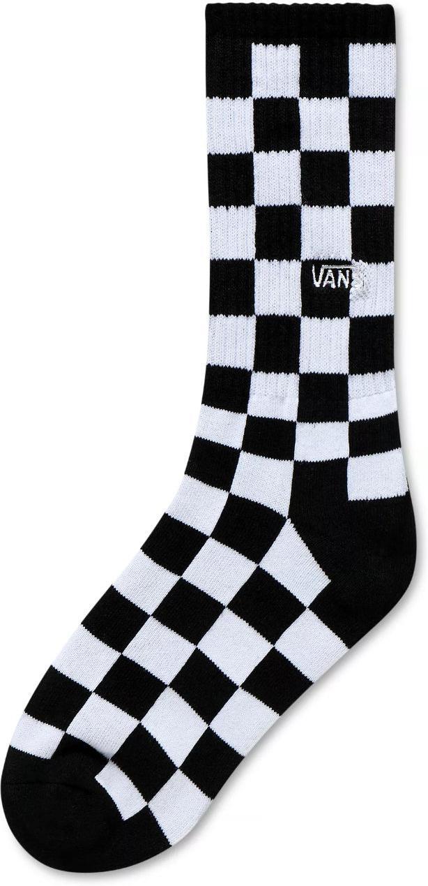 Ponožky Vans BY CHECKERBOARD CREW Black/White Che
