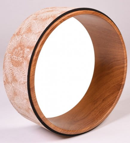 YOGA WHEEL [PALM LEAFS]