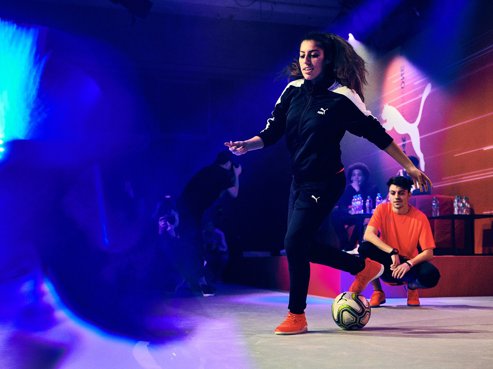 Puma Power Up event in Berlin