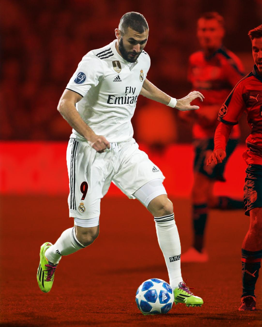 Karim Benzema - kopačky adidas F50 Adizero