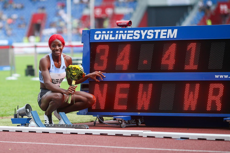 Zlatá tretra - světový rekord