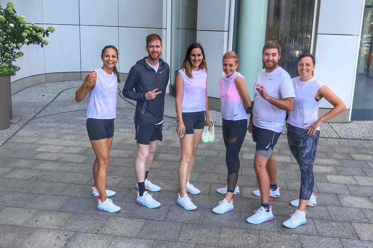 Nike Running meeting