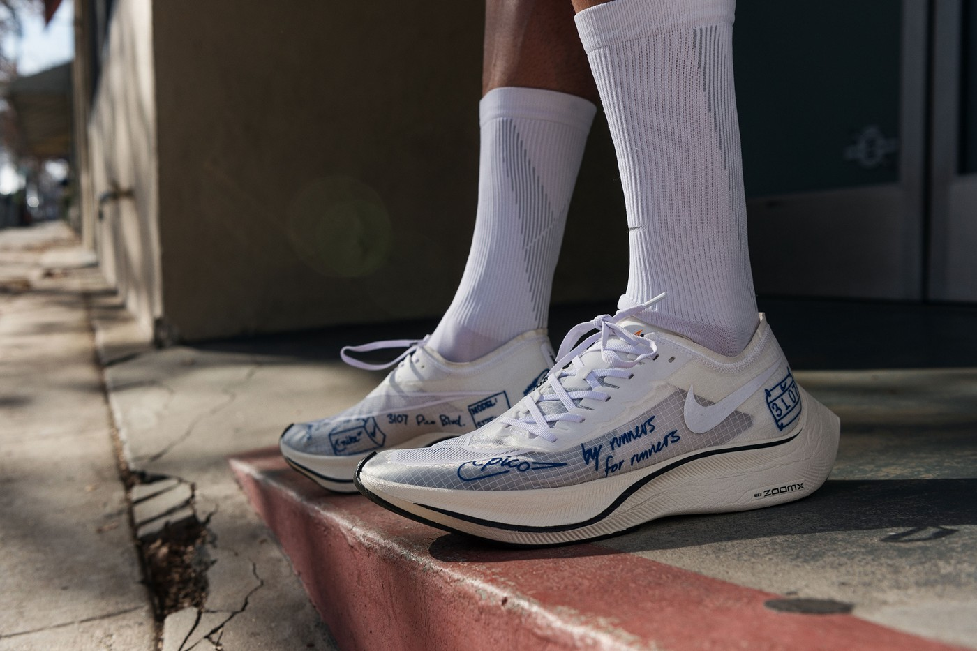 Nike ZoomX Vaporfly NEXT% Blue Ribbon Sports