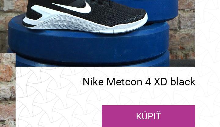 nike metcon 4 xd black white