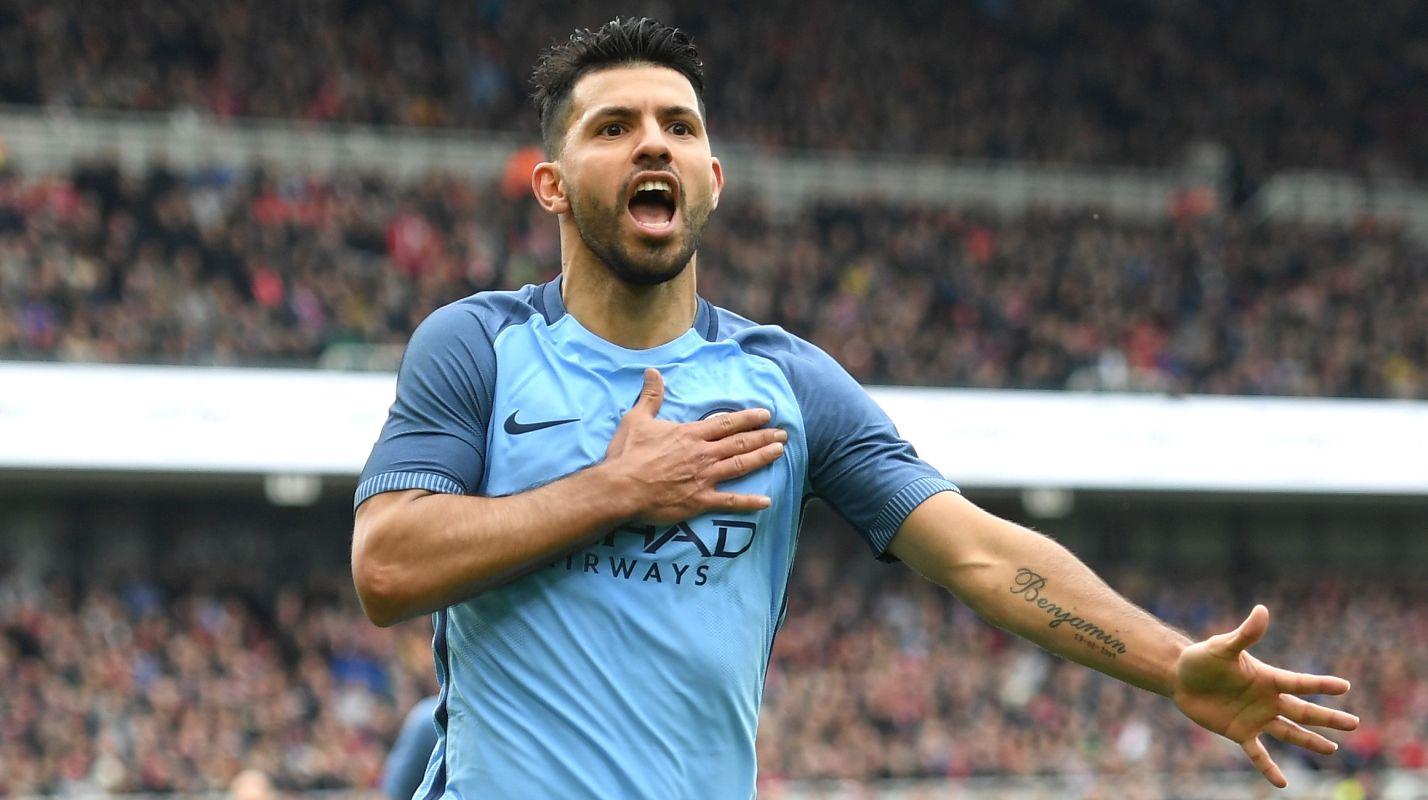 Aguero Manchester City