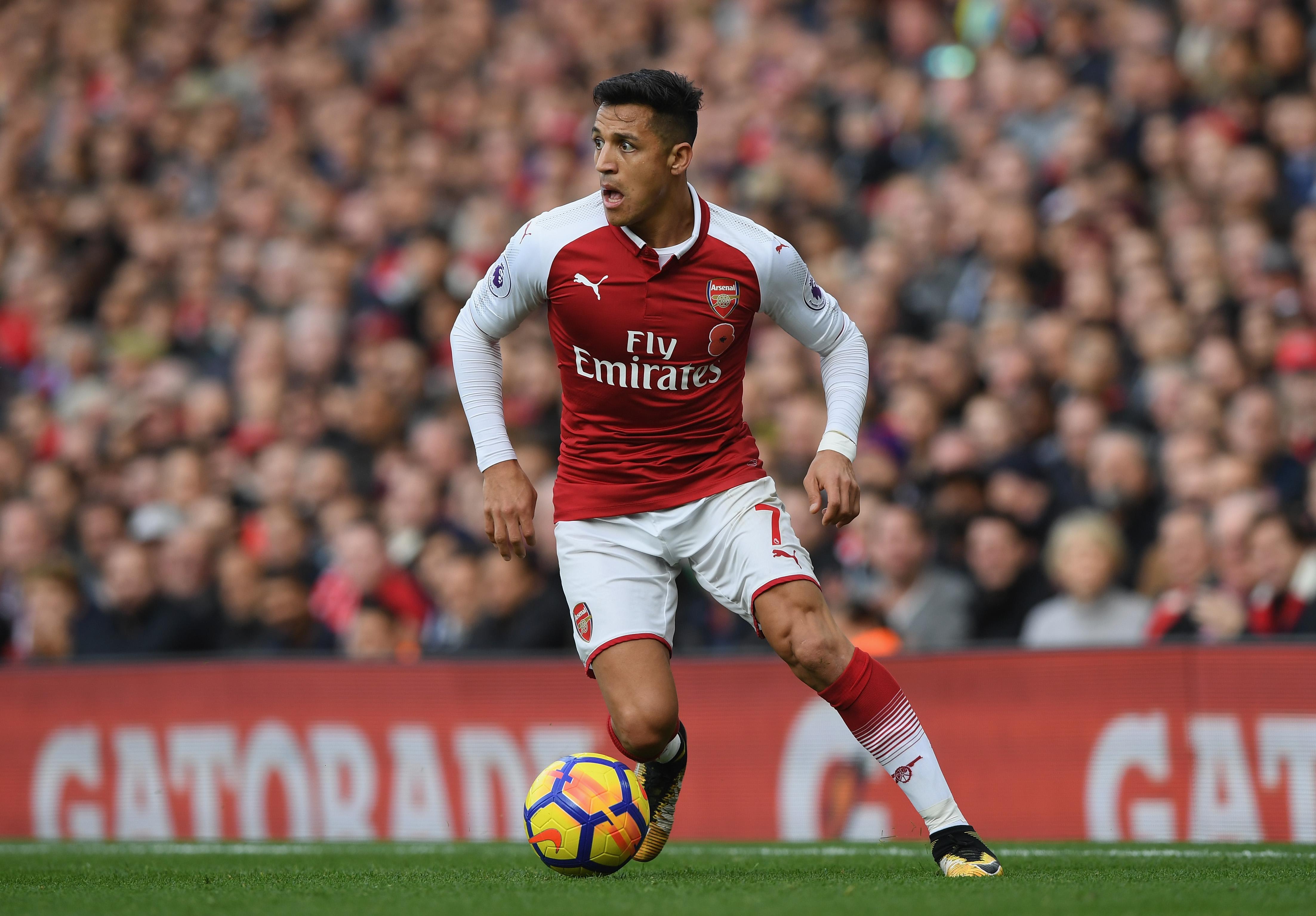 Alexis Sanchez Arsenal FC