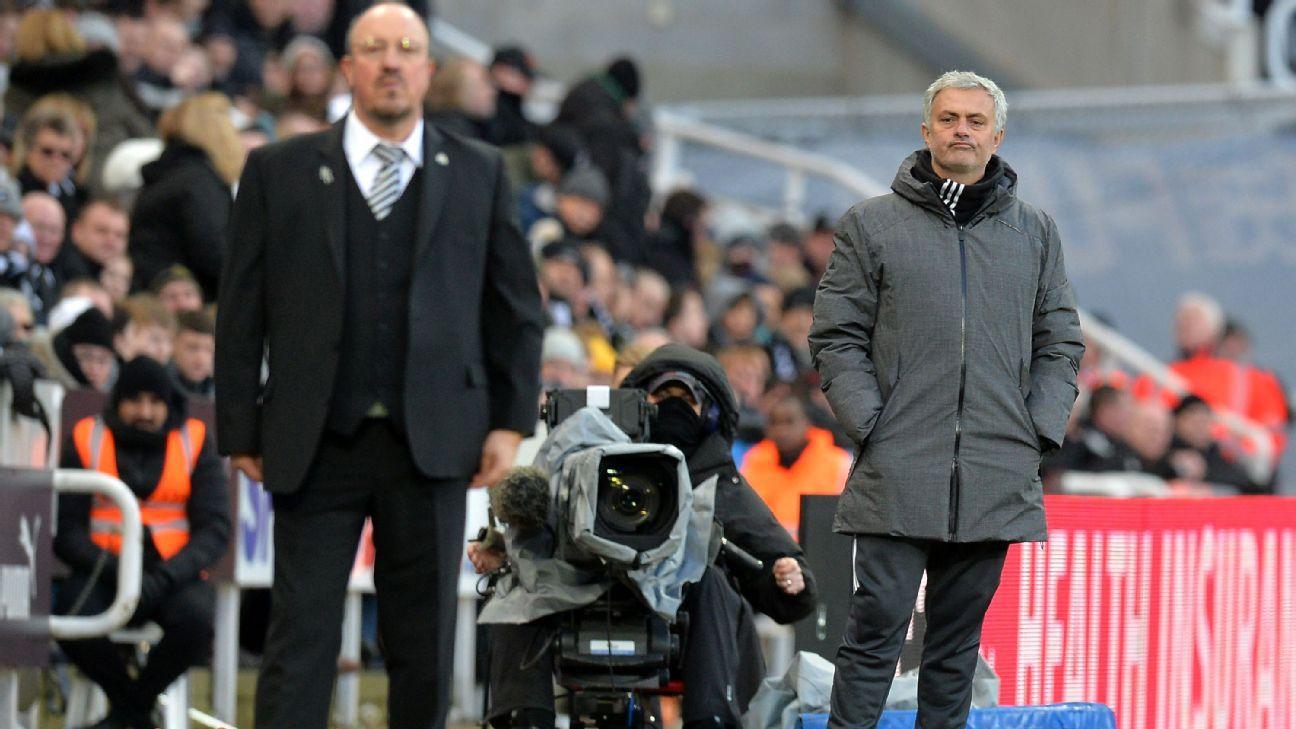 Benitez a Mourinho