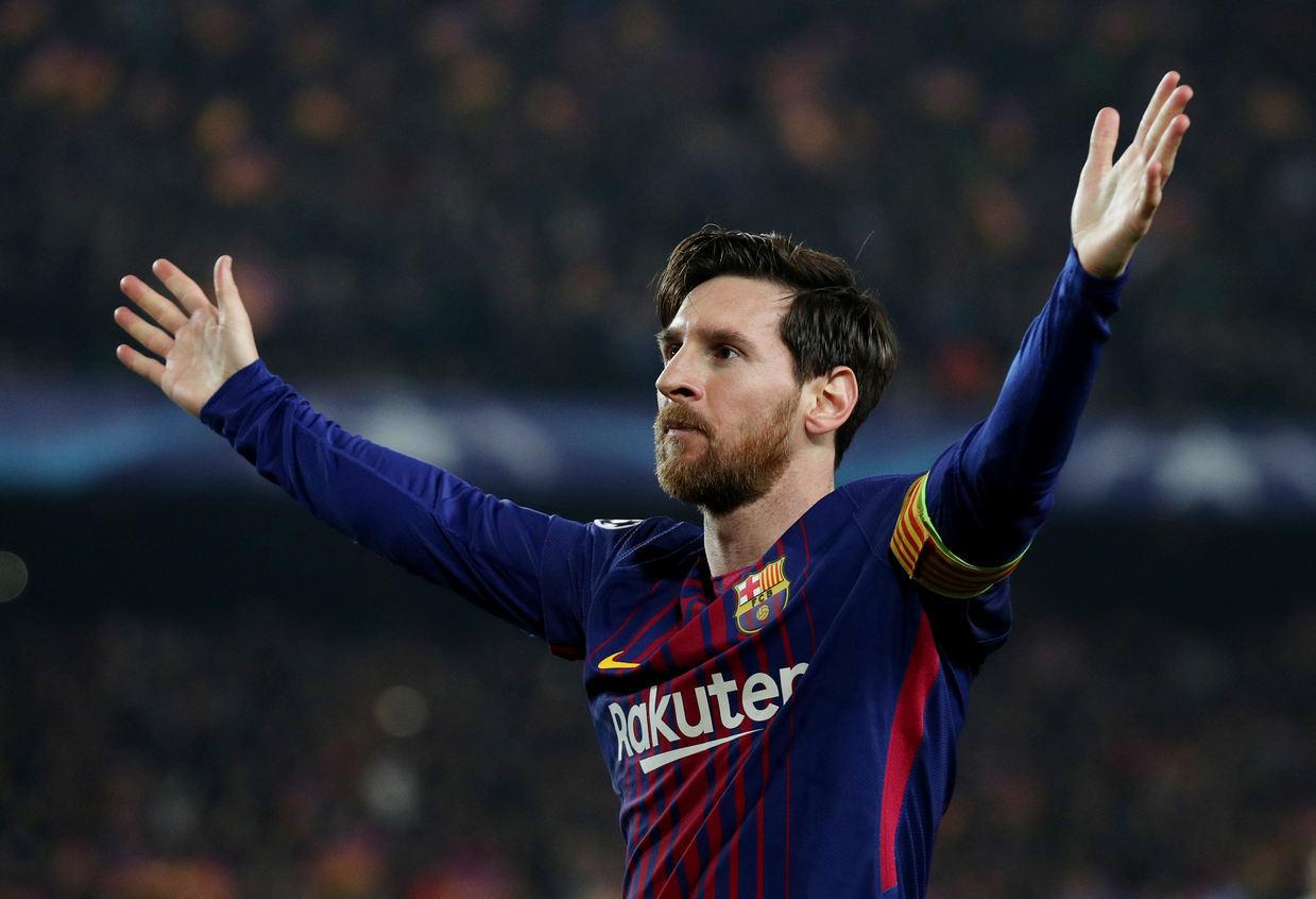 Messi 100 gólov v Lige Majstrov
