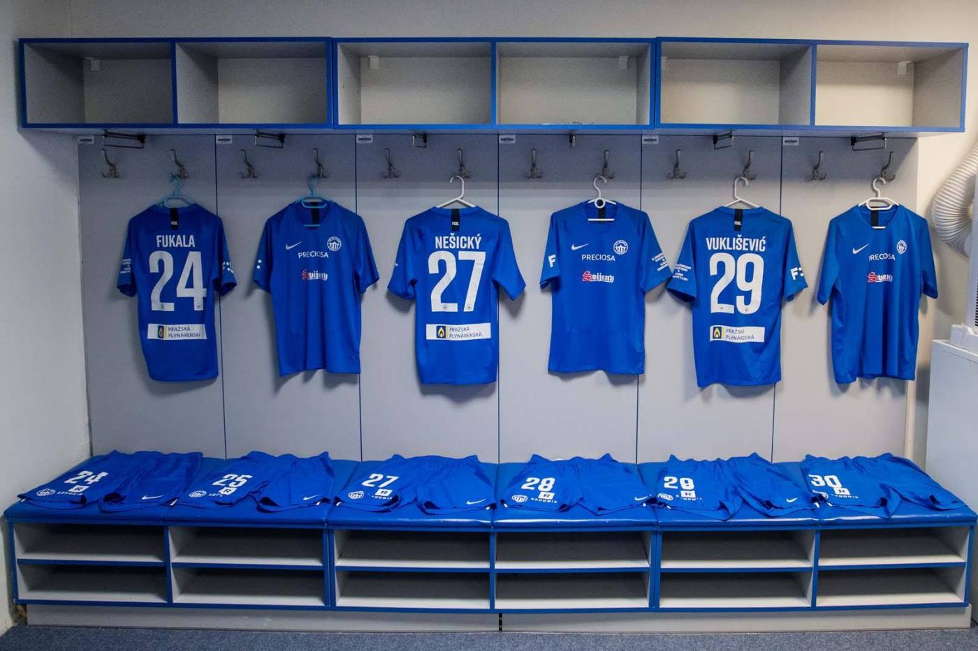 Kabina FC Slovan Liberec