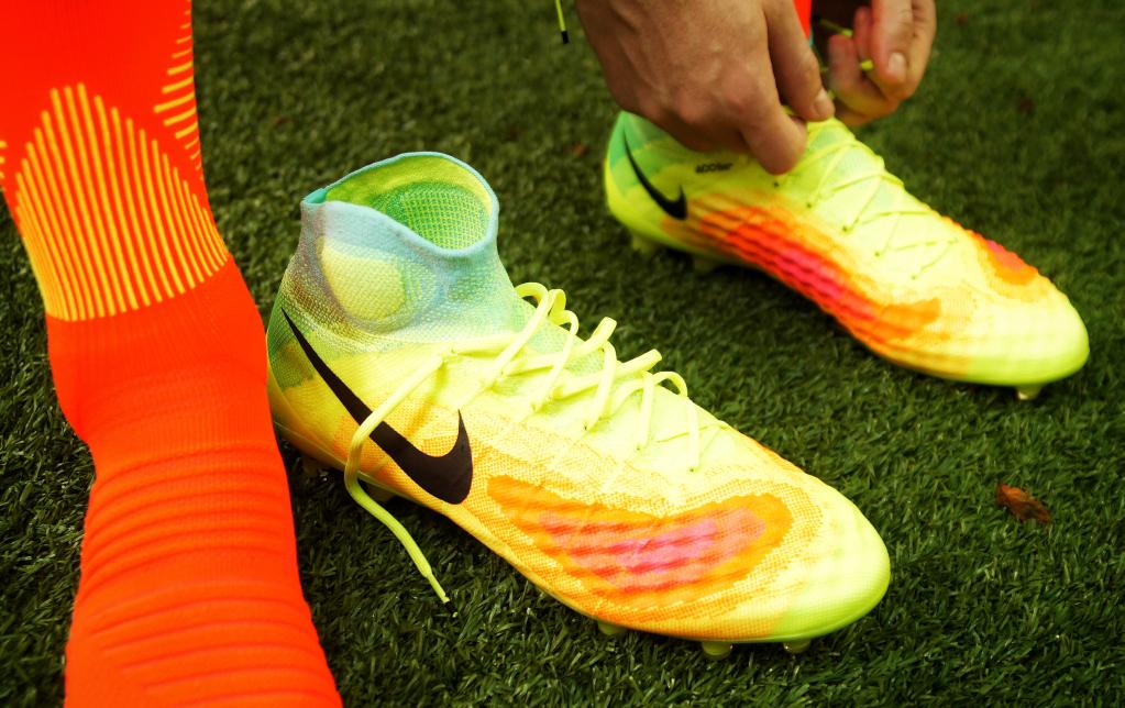 Kopačky Nike v akci.