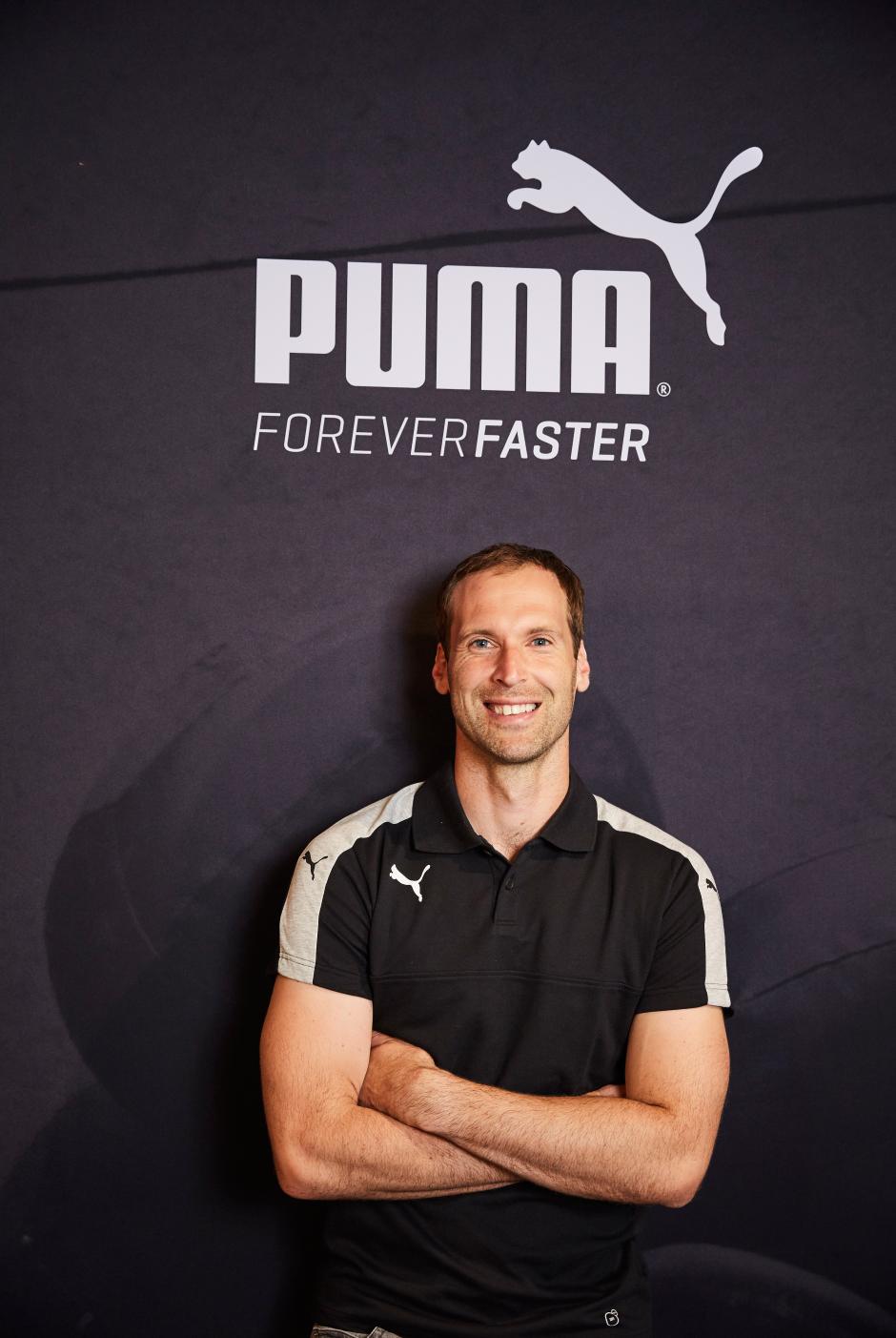 Petr Cech v Pumě.