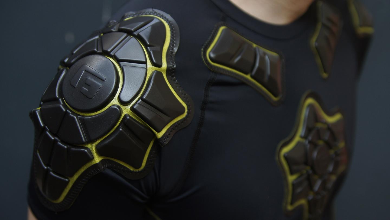 Fotbalové chrániče G-Form.
