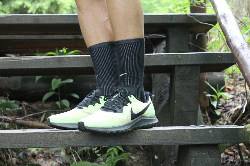 Chemi s Nike Pegasus Trail v akci